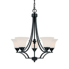 Towne and Country 5 Light Chandelier