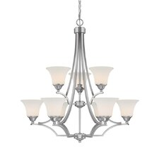 Towne and Country 9 Light Chandelier