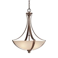 <strong>Capital Lighting</strong> Soho 3 Light Inverted Pendant