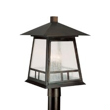 <strong>Capital Lighting</strong> Timber Ridge 3 Light Outdoor Post Lantern