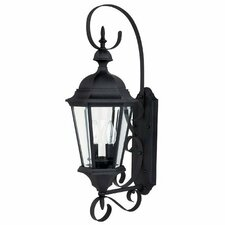 <strong>Capital Lighting</strong> Carriage House 2 Light Outdoor Wall Lantern