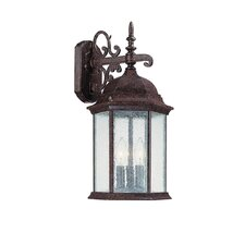 Main Street 3 Light Outdoor Wall Lantern
