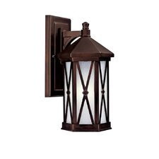 Saxton 1 Light Outdoor Wall Lantern