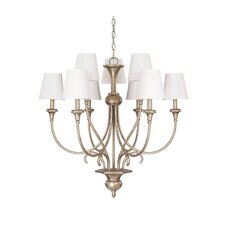 Ansley 9 Light Drum Chandelier