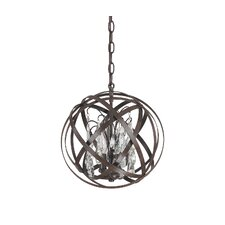 <strong>Capital Lighting</strong> Axis 3 Light Globe Pendant