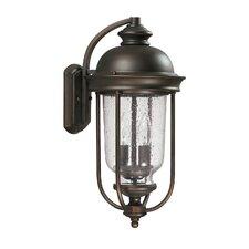 York 2 Light Outdoor Wall Lantern
