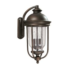 <strong>Capital Lighting</strong> York 3 Light Outdoor Wall Lantern