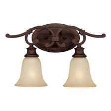 <strong>Capital Lighting</strong> Hill House 2 Light Bath Vanity Light