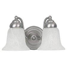 <strong>Capital Lighting</strong> 2 Light Bath Vanity Light