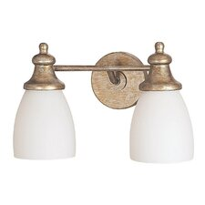 Ansley 2 Light Bath Vanity Light
