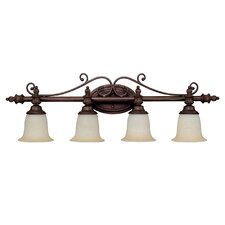 Avery 4 Light Bath Vanity Light