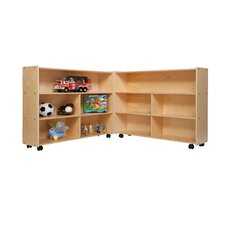 "35.5"" H Mobile Folding Versatile Storage Unit"