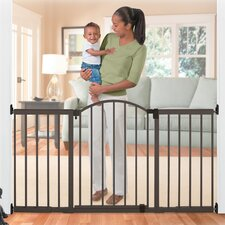 "72"" Wide Extra Tall Walk-Thru Metal Expansion Gate"