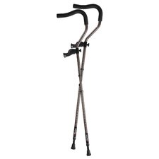 In-Motion Pro Short Ergonomic Folding Forearm Crutch (Set of 2)