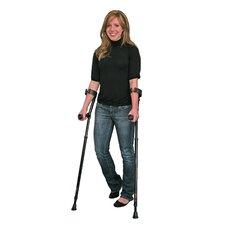 2 Piece In-Motion Pro Short Ergonomic Forearm Crutch