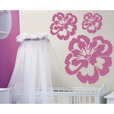 <strong>Alphabet Garden Designs</strong> Peony Vinyl Wall Decal