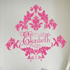 <strong>Alphabet Garden Designs</strong> Tres Chic Damask Wall Decal