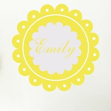 Personalized Dainty Wall Decal