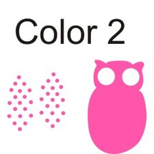 Personalized Hanna's Owl Wall Decal
