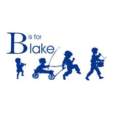 Boy Parade Personalized Wall Decal