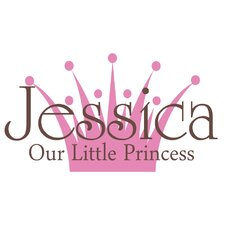Personalized Our Little Princess Wall Decal