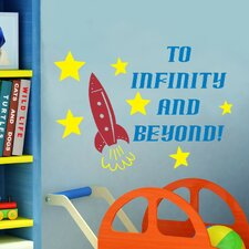 To Infinity and Beyond Wall Decal