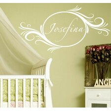 <strong>Alphabet Garden Designs</strong> Delightful Elements Wall Decal