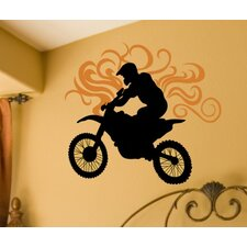 Dirt Bike Wall Decal