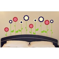 <strong>Alphabet Garden Designs</strong> Flower Garden Wall Decal