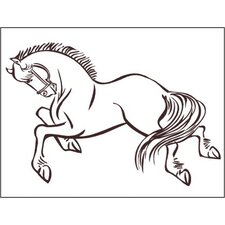 <strong>Alphabet Garden Designs</strong> Horse 2 Wall Decal