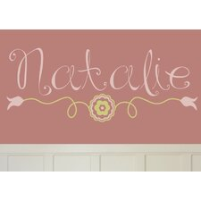 Personalized Natalie's Wall Decal