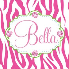 <strong>Alphabet Garden Designs</strong> Bella Rose Canvas Wall Art