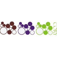 Boy's Dots and Circles Wall Decal