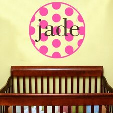 Personalized Seeing Spots Wall Decal