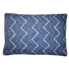 Tie Dye Denim Pillow