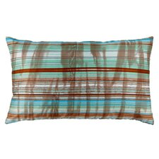 Stripes Polyester Decorative Pillow