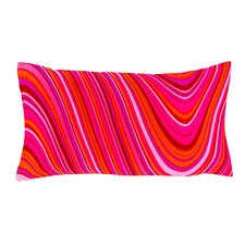 Psychedelic Silk Decorative Pillow