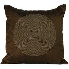 Spiral Silk Square Decorative Pillow