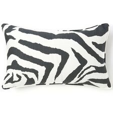 African Zebra Cotton Pillow