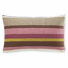 Hosta Stripe Cotton Pillow