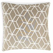 Bethe Tile Square Linen Pillow