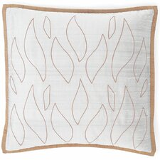 Flames Silk Pillow