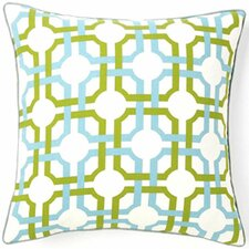 Grill Confetti Square Cotton Pillow