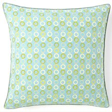 Rings Square Cotton Pillow
