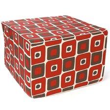 Geo Cotton Cube Ottoman
