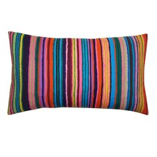 Strokes Cotton Pillow