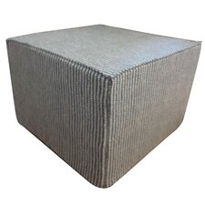 Stitches Cotton Cube Ottoman