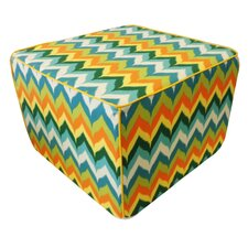 Dripping Paint Ottoman