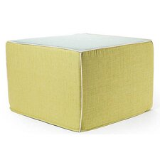 Rebel Window Ottoman in Celery and Mint
