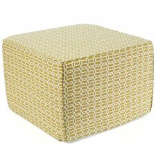 Mosaic Ottoman in Green